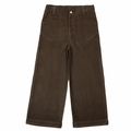 Kate Quinn Organic Wide Wale Cords in Charcoal - <B>size 5 left</B>