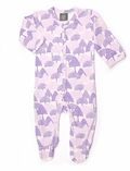 Kate Quinn Organics Unisex-baby Footie in Forest