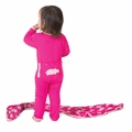 Kickee Pants Applique Coverall in Calypso Hippo - <B>Size 0-3M</B>