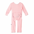 Kickee Pants Applique Coverall in Lotus Plesiosaur - <B>Sold Out</B>