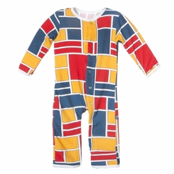 Kickee Pants Coverall in Bauhause - <B>Sold Out</B>