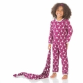 Kickee Pants Coverall in Melody Giraffe - <B>Sold out</B>