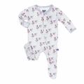 Kickee Pants Footie in Little Bo Peep - <B>Sold Out</B>