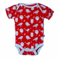 Kickee Pants Short Sleeve Onesie in Jazz Singing Birds - <B>Sold out</B>