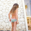 Lilo Tati Army Elephant Parade Girly Ruffle Brief Bikini - <B>Last one size 3</B>