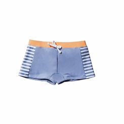 Lilo Tati Toddler Boy Crop Short in Stripe