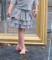 Mim Pi Ballet Theater Grey Tiered Skirt