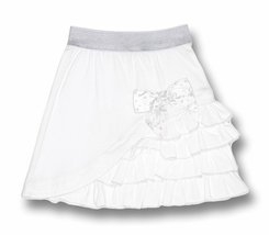 Mim Pi Ballet Theater White Layered Skirt