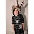 Misha Lulu Hello Kitty Silver Striped Umbrella Dress - infant sizes left!