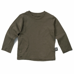 Nununu Circle Glove Shirt in Olive