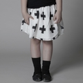 Nununu Cotton Plus Skirt in White - <B>Last one size 8-9</b>