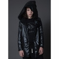 Nununu Dark V Cape - <B>Last one 8Y/9Y</B>