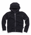 Nununu Deconstructed Hoodie in Black -  <B>Last One Size 3/4</b>