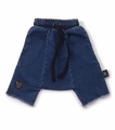 Nununu Denim Harem Shorts - <B>Last one size 4Y/5Y</B>