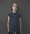 Nununu Denim Muscle Shirt -  <B>Last One size 12/14Y</b>