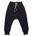 Nununu Diagonal Sweatpants in Black - <b>Last one size 8Y/9Y</B>