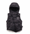 Nununu Down Vest in Black