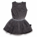 Nununu Dyed Tulle All In One Skirt Dress - <B>Last One Size 12-18m</b>