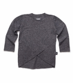 Nununu Envelope Pullover in Charcoal - <B>Last one size 2Y/3Y</B>