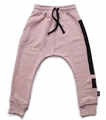 Nununu Exclamation Baggy Pants in Powder Pink