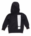 Nununu Exclamation Hoodie in Dyed Black