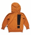 Nununu Exclamation Hoodie in Dyed Tangerine
