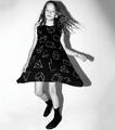Nununu Geometric 360 Dress in Black - <B>Last one size 10Y/11Y</B>