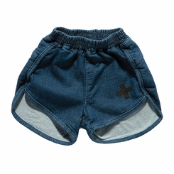 Nununu Gym Shorts in Denim - <B>Size 8Y/9Y left</B>