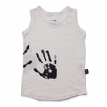 Nununu Hand Print Tank Top In White