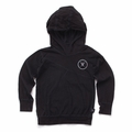 Nununu Light Hooded Shirt In Black