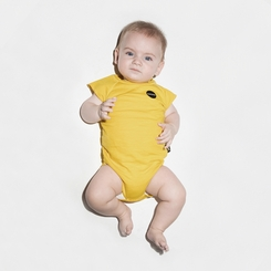 Nununu Muscle Bodysuit In Dusty Yellow - <B>Sold out</b>