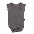 Nununu Muscle Bodysuit In Dyed Grey