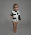 Nununu Punctuation Onesie in White