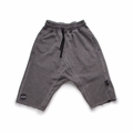 Nununu Raw Shorts In Dyed Grey
