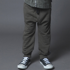 Nununu Riding Sweatpants in Olive - <B>Last One Size 12/14Y</b>