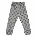 Nununu Skulls Leggings in Heather Gray - <b>Last one size 12Y/14Y</B>