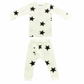 Nununu Star Lounge Set in White - <b>Size 10Y/11Y left</B>