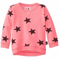 Nununu Star Pullover in Neon Pink - last one size 8/9 years!