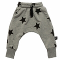 Nununu Stars Baggy Pants in Gray - <b>Last one size 10Y/11Y</B>