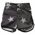 Nununu Stars Surf Shorts in Black - <B>Sold Out</B>