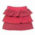 PAIGELAUREN Classic Ruffled Skirt in Sunset