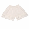 Persnickety Cream Triple Ruffle Shorts - sold out!