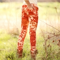 Persnickety Floral Skinnies - size 2 & 3 left!