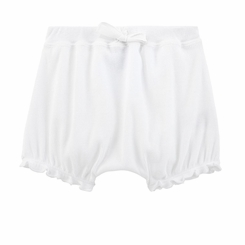 Petit Bateau Baby Bloomers in White - <b>Sold Out</b>