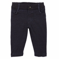 Petit Bateau Baby Boy Navy Sweatloop Pants - size 12M left!