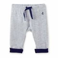 Petit Bateau Baby Boy Sweatpants in Grey -  <B>Last One Size 6m left</b>