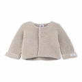 Petit Bateau Baby Cardigan in Grey - <B>Sold Out</B>