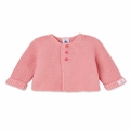 Petit Bateau Baby Cardigan in Pink - <B>Sold Out</B>