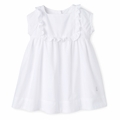 Petit Bateau Baby Girl Dotted Swiss Cotton Dress - <b>Last one - Size 12M left</B>