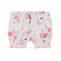 Petit Bateau Baby Girl Rose Printed Bloomers - <b>Last One Size 12m</B>